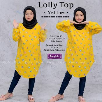 Baju Tunik Anak Lolly