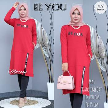 Baju Tunik Kaos Be You
