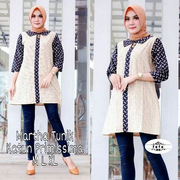 Baju Tunik Pesta Martha
